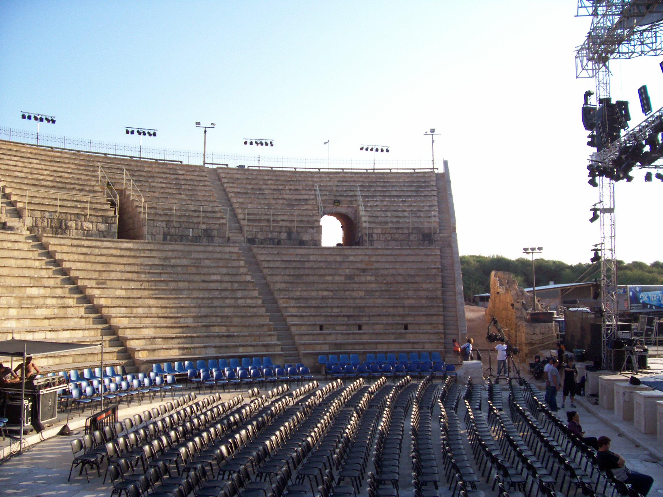 Римский театр в Кейсарии