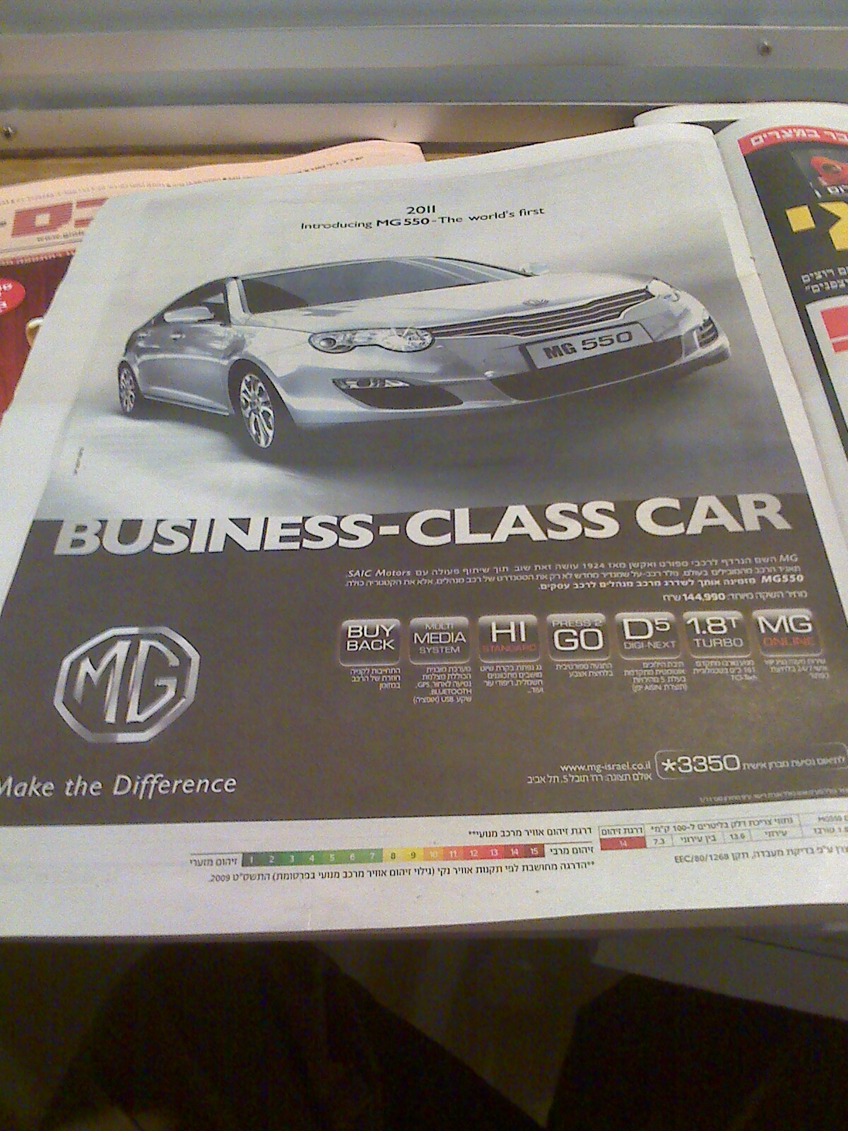 Chinese made MG cars for sale in Israel? | Brit In Jerusalem