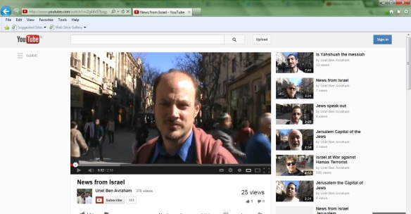 youtube | Brit In Jerusalem