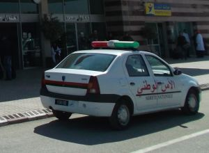Local police also drive Dacias