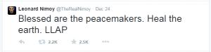 spock tweet