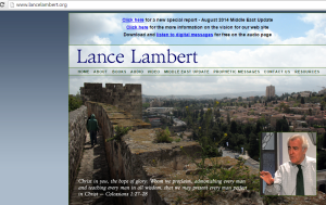 lances web site