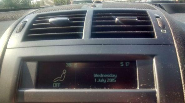 my car dash