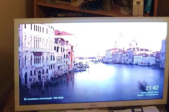 my tv with chromecast