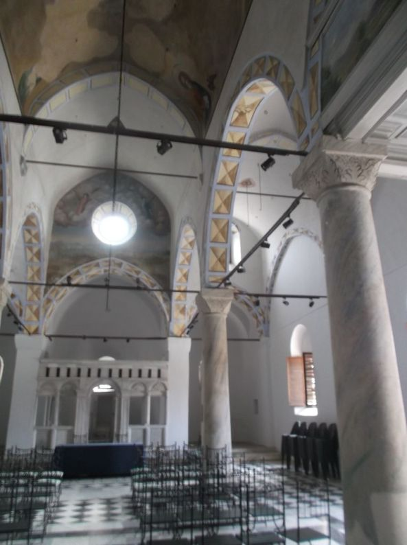 inside of greek church