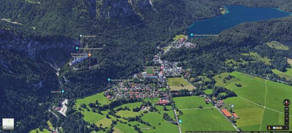 Neuschwanstein google maps.png